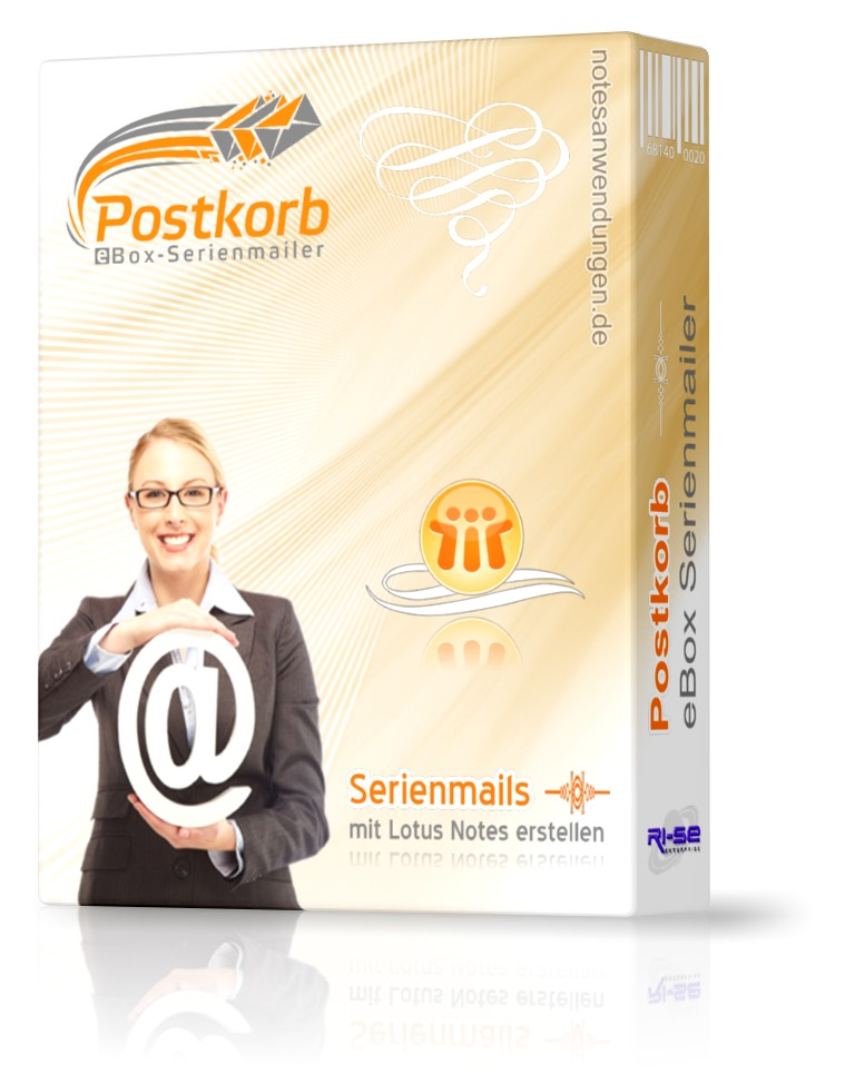 Postkorb eBox Serienmailer für Lotus Notes